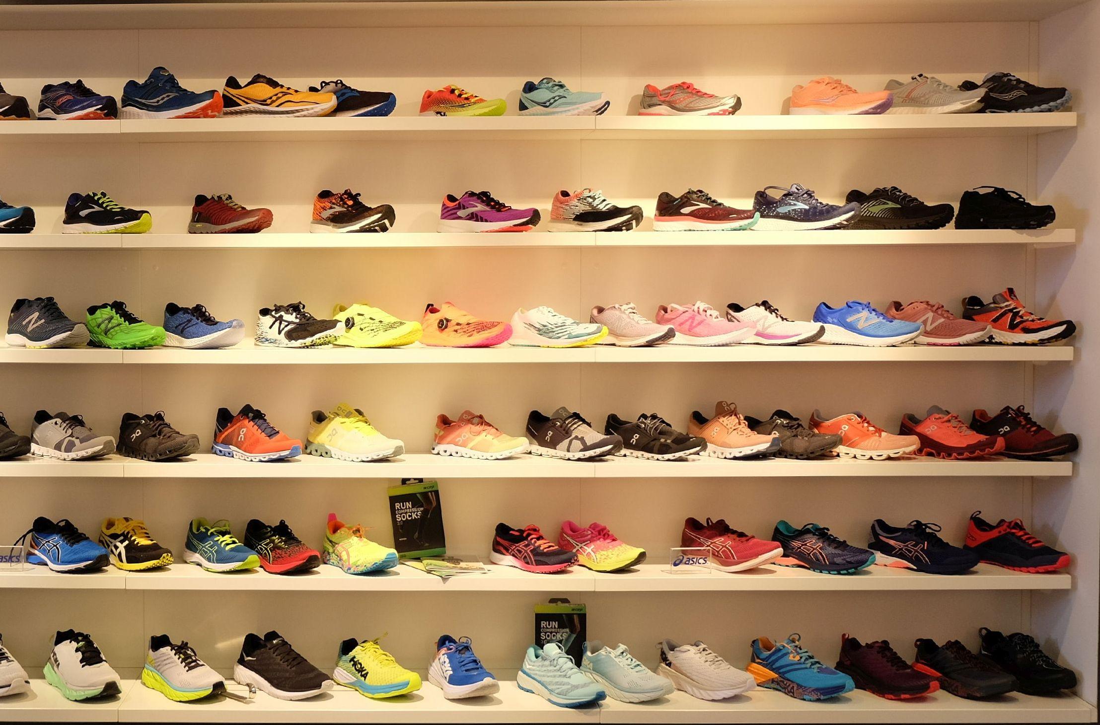 Im Laufwerk Gelnhausen findet jeder den passenden Schuh.